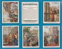 Collectable Cigarette cards set The Story of London 1934 large size